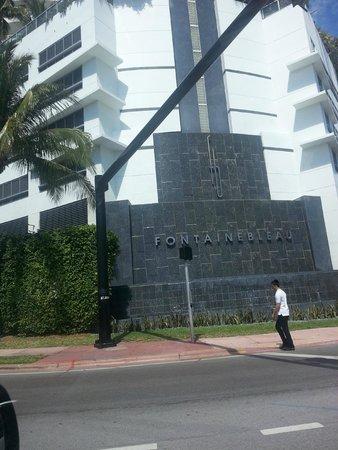 Fontainebleau Miami Beach: Frente do Hotel