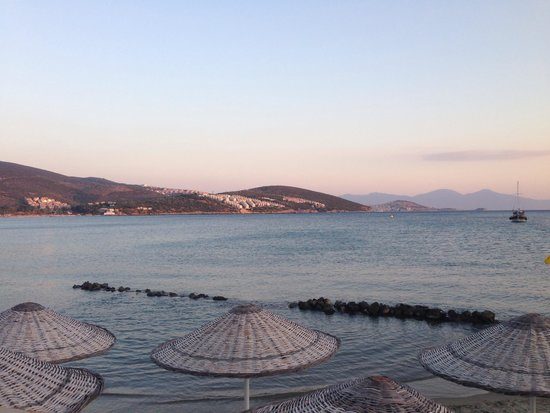 Tusan Beach Resort: View from A La Carte Lykia
