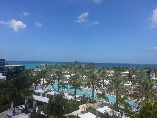 Fontainebleau Miami Beach : Vista do Apartamento