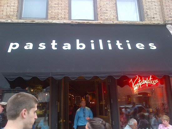 Pastabilities: Front Sign