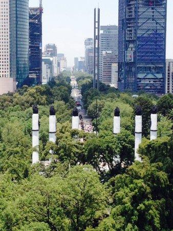 Chapultepec Castle: View