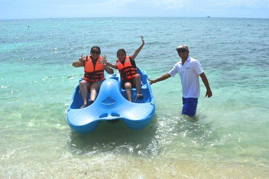Playa Mia Grand Beach & Water Park: water toys at playa mia
