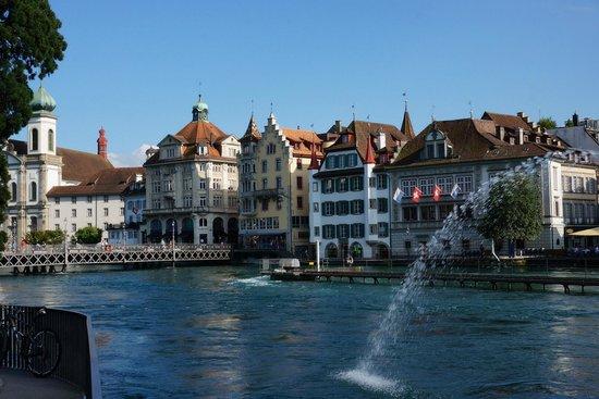 Old Town Lucerne : Набережная
