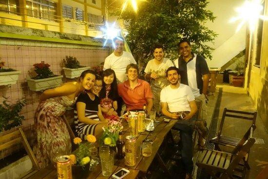 Rio Aplauso Hostel: construindo novas amizades, culturas diferentes!