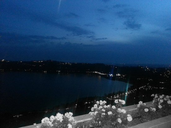 La Locanda del Pontefice: panorama notte
