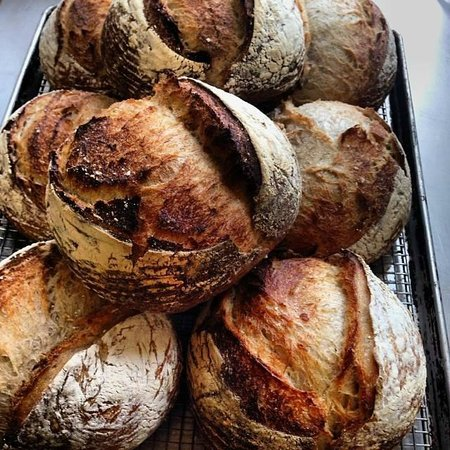 Mercer Hotel: Fresh baked sourdough bread
