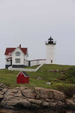 Cape Neddick Nubble Lighthouse: nubble