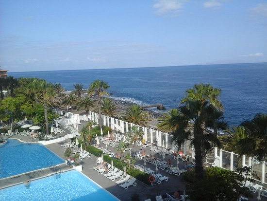 Hotel Riu Palace Madeira: view from our room