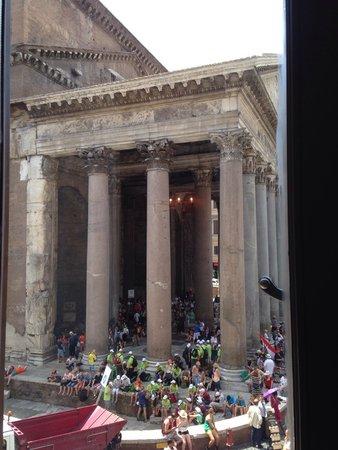 Albergo del Senato: View from one of my windows