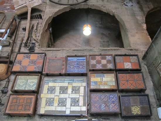Moravian Pottery and Tile Works : Inside the studio