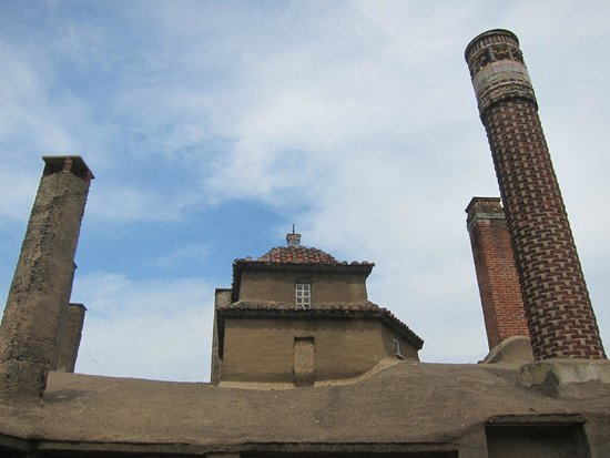 Moravian Tile and Pottery Works: View outside