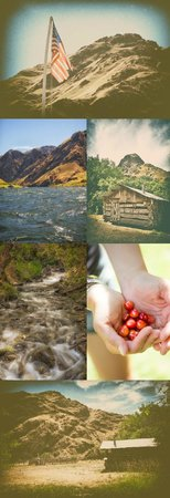 Hells Canyon Raft: Visiting homesteads was a journey back in time and picking cherries from the Kirkwood Ranch