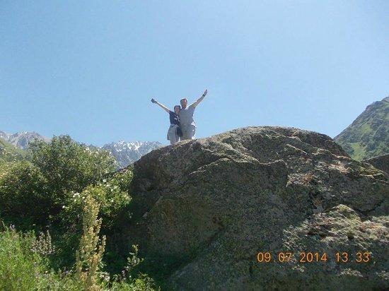Ala-Archa Gorge: Мы.Заповедник Ала Арча, ущелье и т.д......