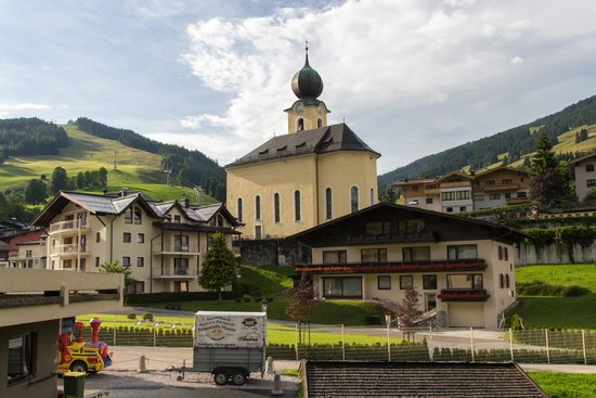 Alpinresort Sport & Spa : View from the Relax Junior Suite