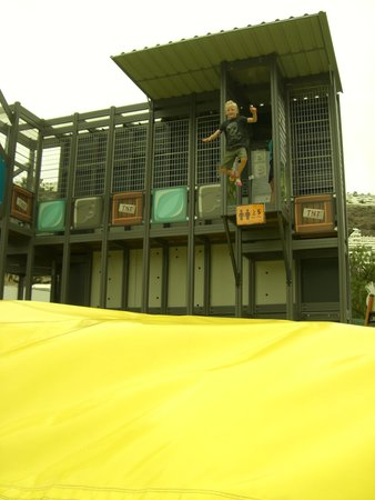 Angry Birds Activity Park Gran Canaria : 7ft Stunt Jump