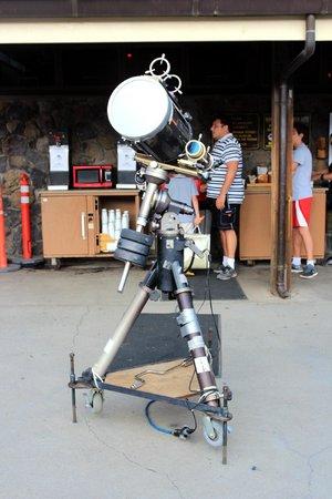 Mauna Kea Summit : telescope