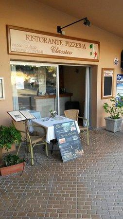 Ristorante Classico Club Nautico Santa Ponsa: Main entrance- Classico Ristorante