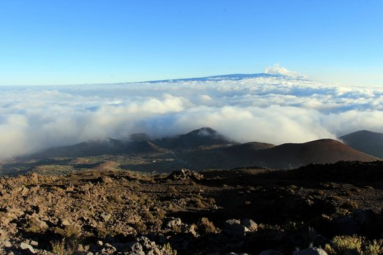 Mauna Kea Summit : cloud