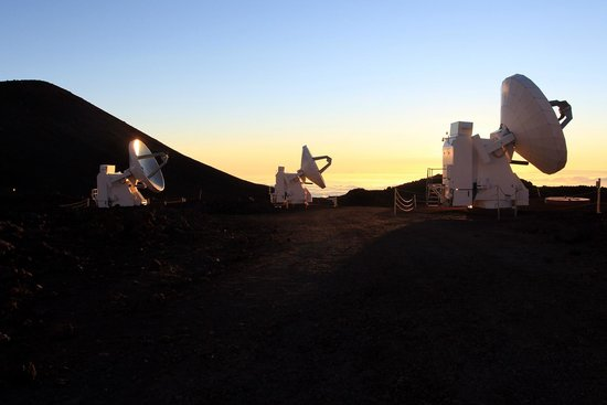 Mauna Kea Summit : before sunset