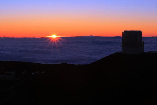 Mauna Kea Summit : sunset
