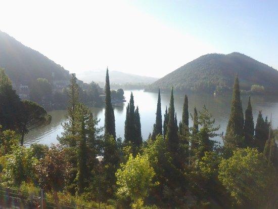 Hotel Del Lago : vista dalla camera