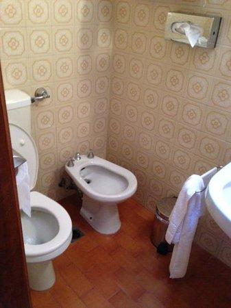 Hotel Gabrielli : Toilet & Bidet