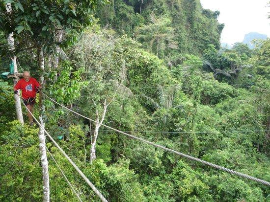 Tree Top Adventure Park Krabi: Вид