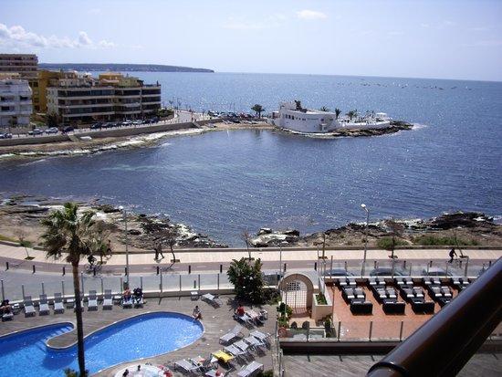 AluaSoul Palma: vistas de la habitacion