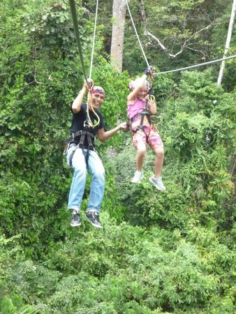 Tree Top Adventure Park Krabi: Полёт с Джимми.