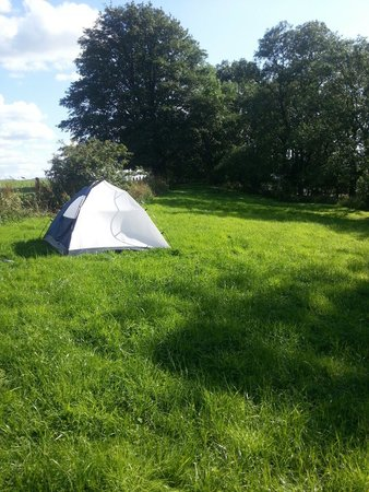 Quarryside: Lonely campers :-)