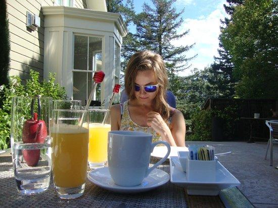 The Chanric Inn: Breakfast