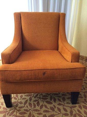 Marriott Beach Resort and Marina Hutchinson Island : Chair Stains
