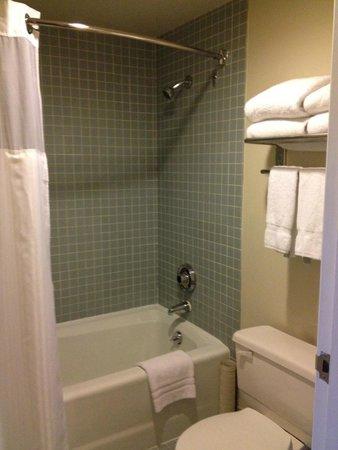 Georgian Court Hotel: the bathroom