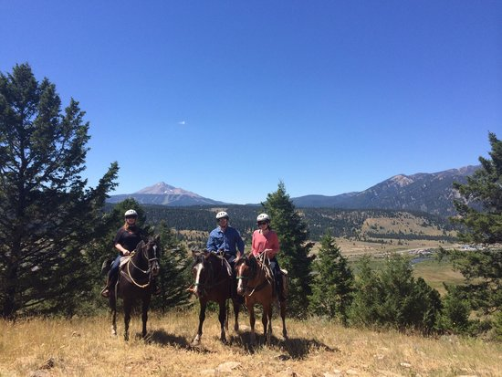 Canyon Adventures Horseback Day Tours: Big Sky Adventure