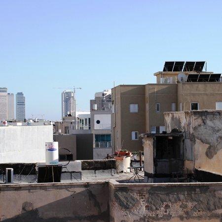Hotel Prima City Tel Aviv: вид с балкона