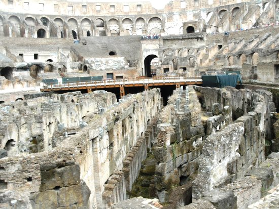 Ancient Rome: Kollosseum unterirdische Area
