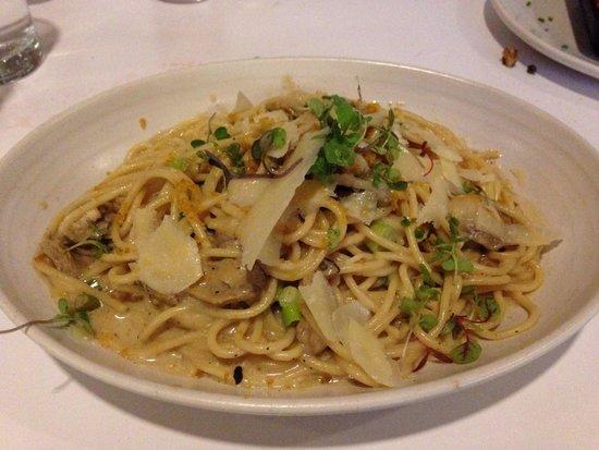 Borgne: Oyster spaghetti