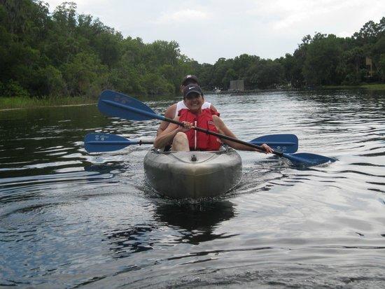 Rainbow Springs State Park: nice paddle