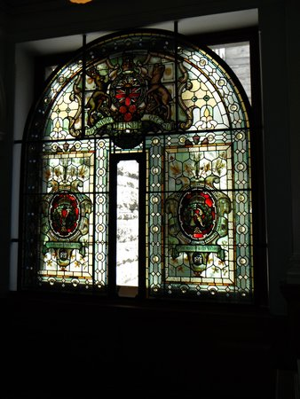 British Columbia Parliament Buildings: Glass Stained Window
