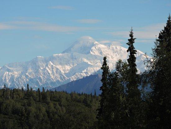 Mt. McKinley Princess Wilderness Lodge: Mt. McKinley from the lodge