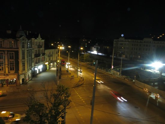 Hotel Lion: Вид с балкона