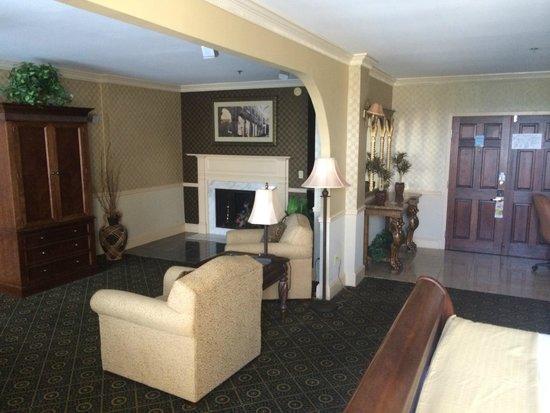 Holiday Inn Gaithersburg : honeymoon suite