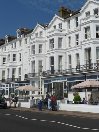 The Strand Hotel: Hilton Royal Parade Hotel from the seafront.