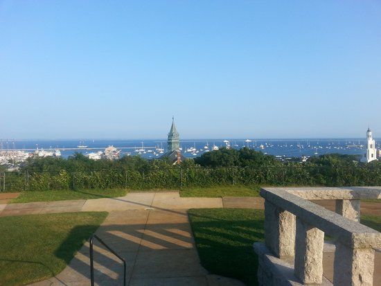 Pilgrim Monument & Provincetown Museum : The View from the bottom