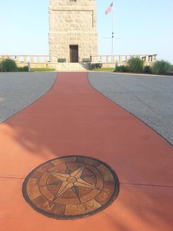 Pilgrim Monument & Provincetown Museum: The Compass and Entrance
