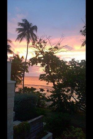Dorado Beach, a Ritz-Carlton Reserve : Sunset from balcony,,,