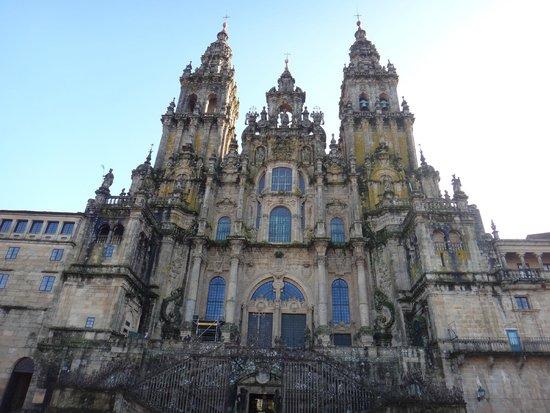 Kathedrale von Santiago de Compostela: Catedral de Santiago de Compostela - Praça do Obradoiro