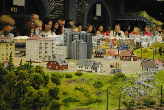 Grand Maket Russia Interactive Museum: Посетители музея