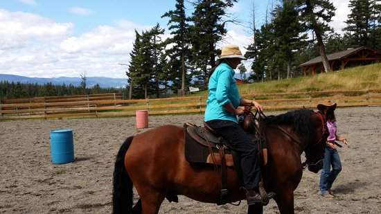 Echo Valley Ranch & Spa: horse riding