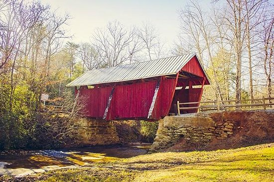 Campbell's Covered Bridge: Side View
